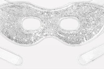 Silver Glitter Cool Eye Gel Mask