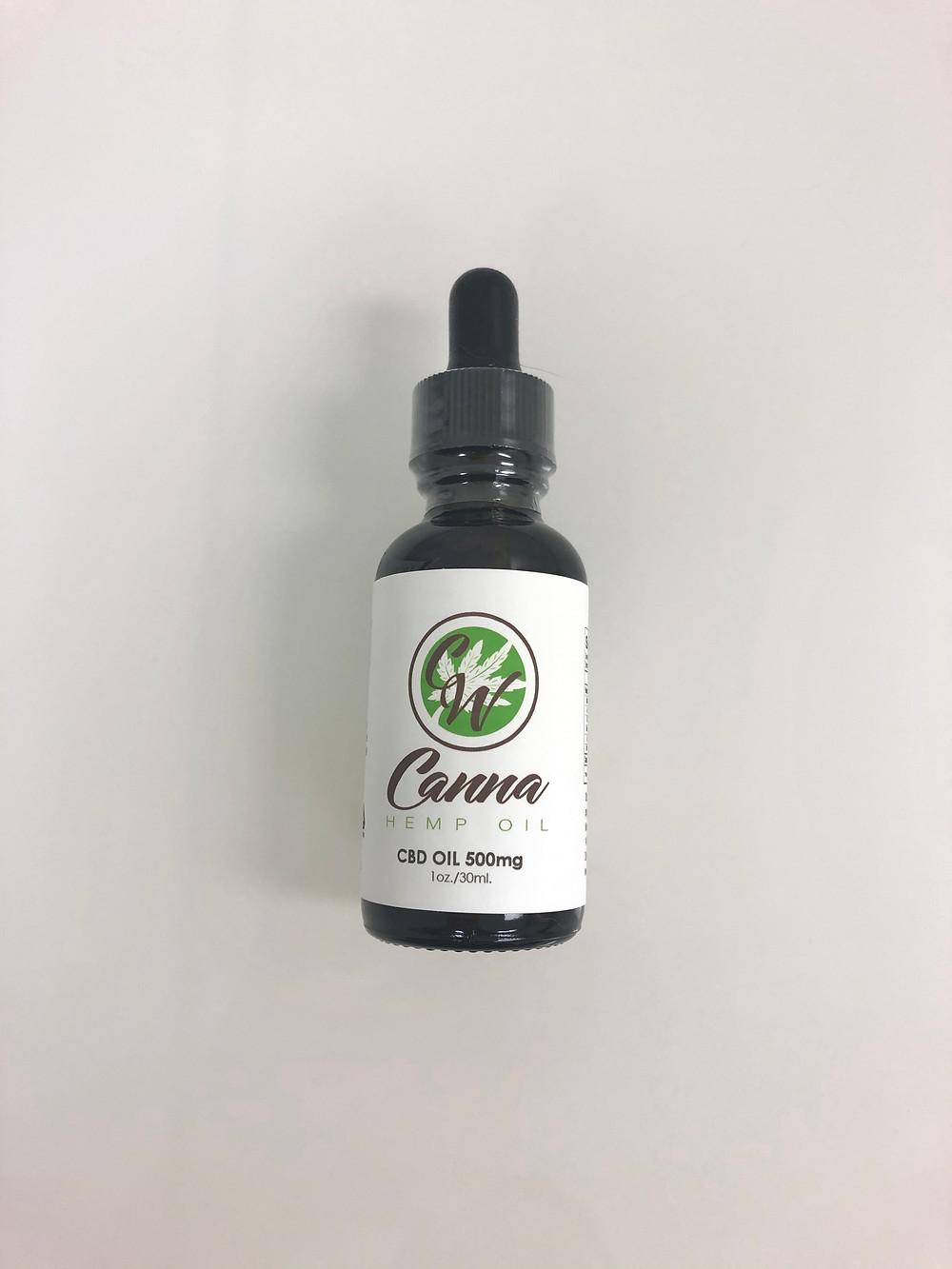 CBD Oil 500 mg