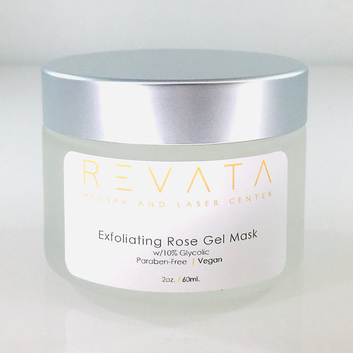 Exfoliating Rose Gel Mask with 10% Glycolic