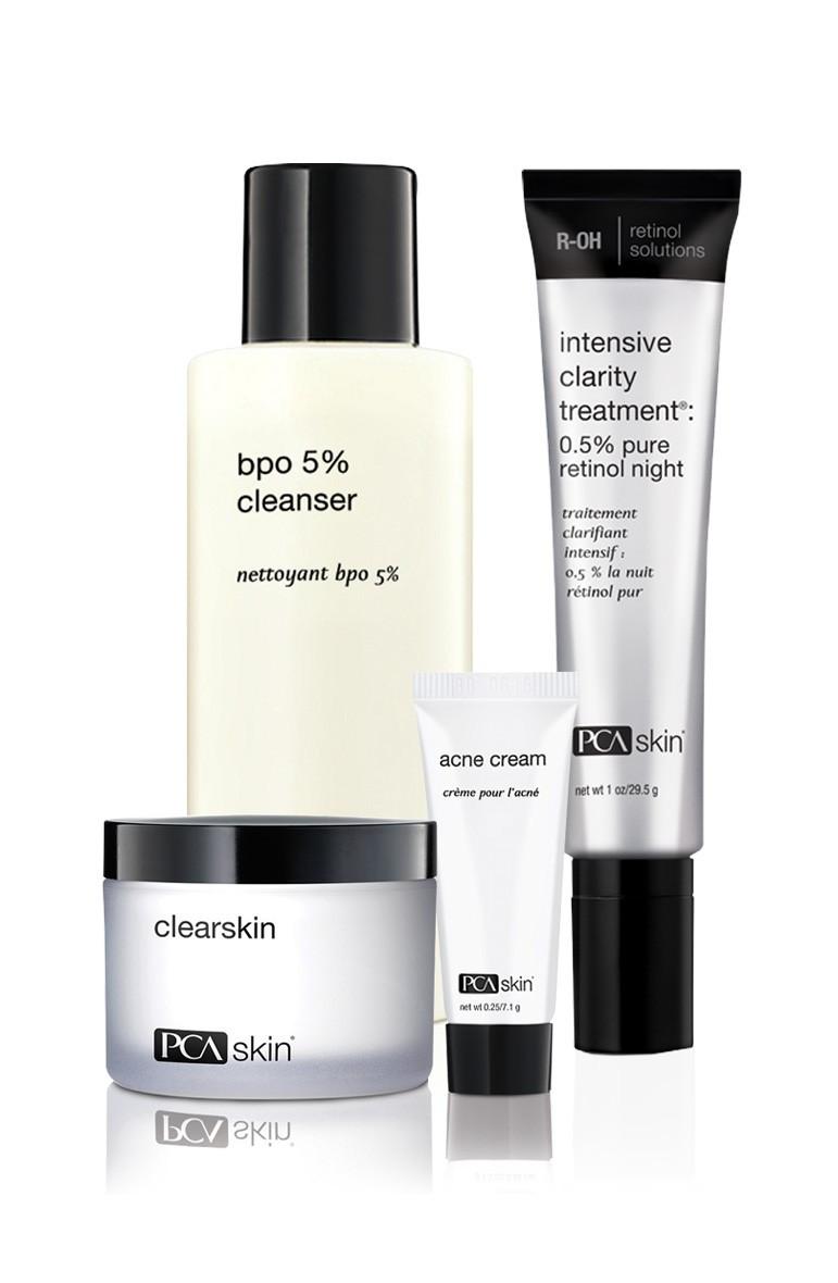 acne skin care kit