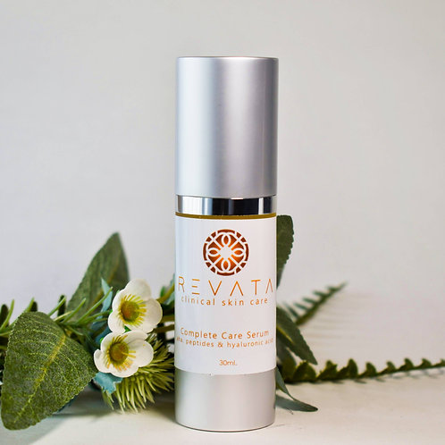 Complete Care Serum - Peptides, AHA & Hyaluronic Acid