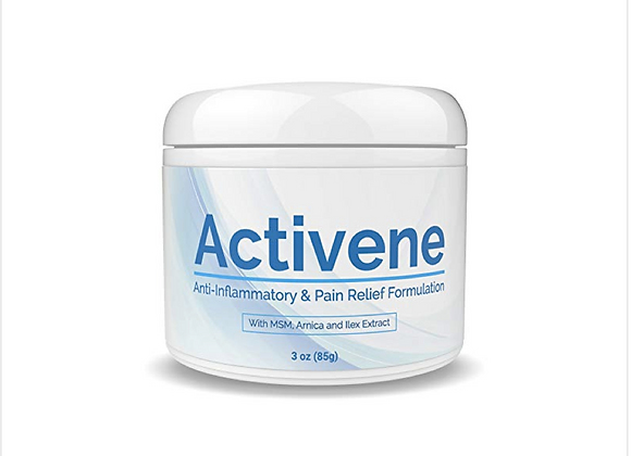 ACTIVENE Arnica Gel Cream - with Menthol and MSM