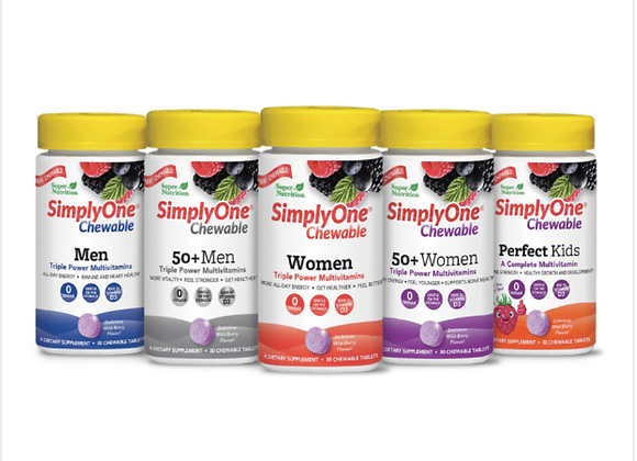 SuperNutrition: Simply One Chewable for Women