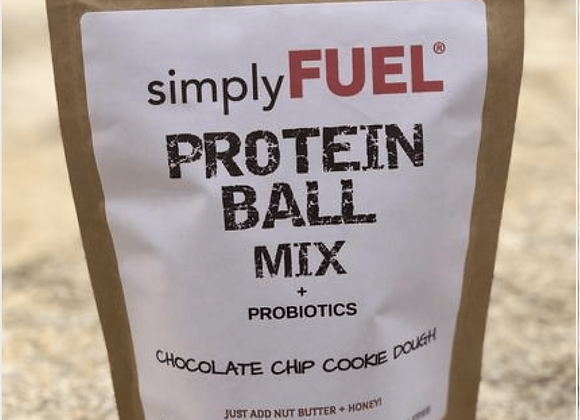 Simply Fuel: Chocolate Chip Cookie Dough Protein Ball Mix