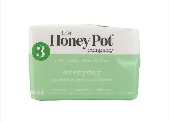 The Honey Pot Company: Everyday Herbal Pantiliners 30 pack