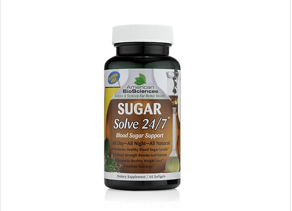 American BioSciences: SUGARSolve 24/7