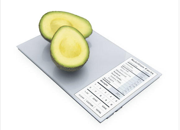 Greater Goods: Nutrition Facts Food Scale