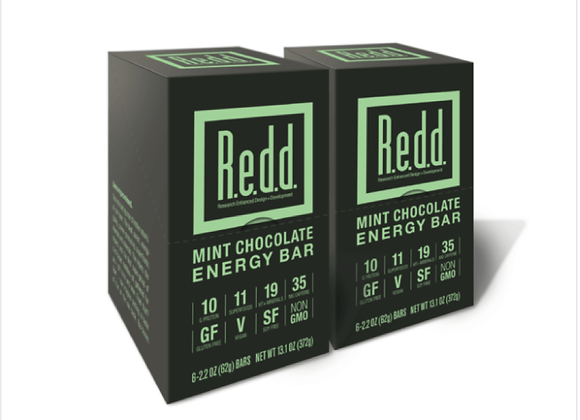 R.e.d.d: Mint Chocolate Energy Bar