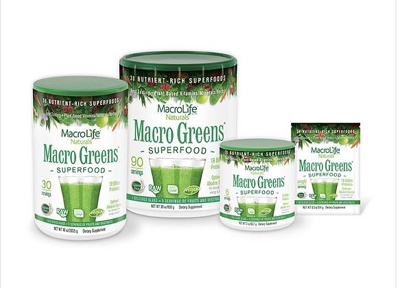 MacroLife Naturals: Macro Greens Superfood
