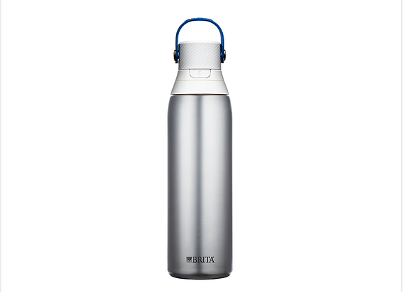 Brita® Premium Filtering Water Bottle – Stainless Steel