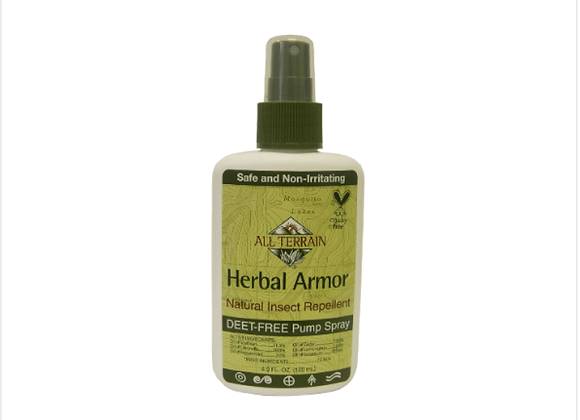 All Terrain: Herbal Armor DEET-free, Natural Insect Repellent 4oz.