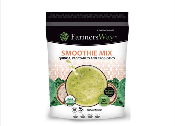 Farmers Way: Quinoa, Vegetables, and Probiotics