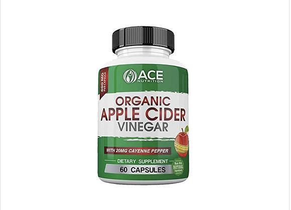 ACE Nutrition Organic Apple Cider Vinegar Capsules