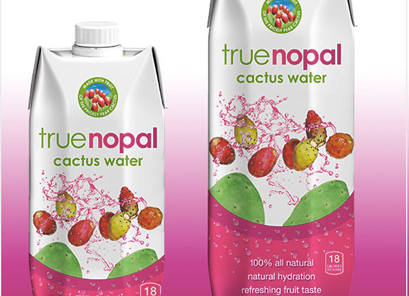 TrueNopal: Cactus Water