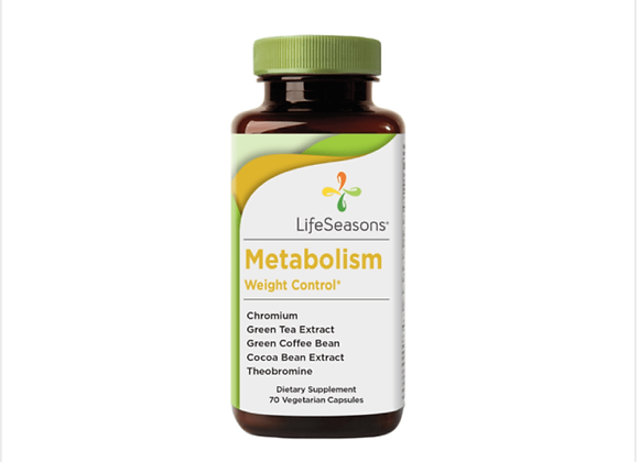 Life Seasons: Metabolism Weight Control Supplement