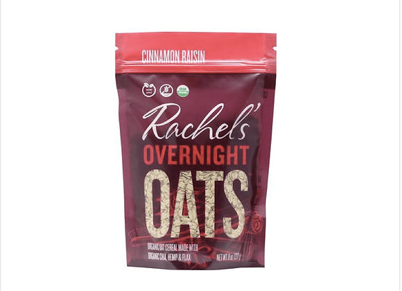 Rachel's Cinnamon Raisin Overnight Oats