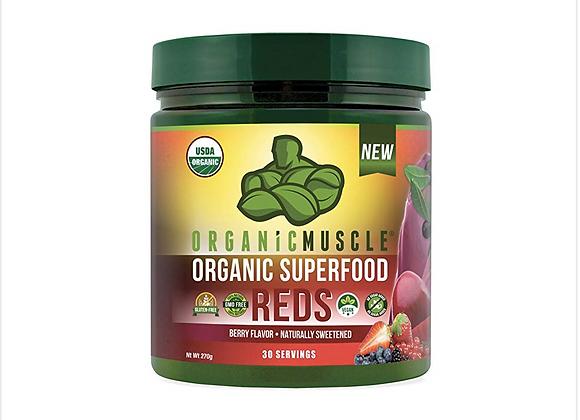 Certified Organic Superfood Reds Powder