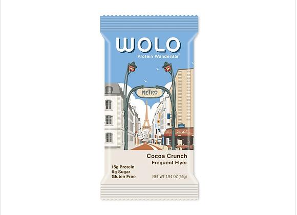 Wolo: WanderBar® Cocoa Crunch Protein Bar