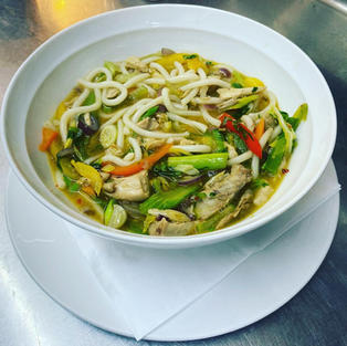 Udon Noodles, another of our specials