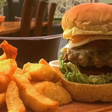 The Green Man Burger!