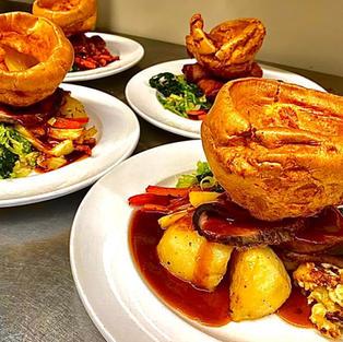 Our famous Sunday Roast!