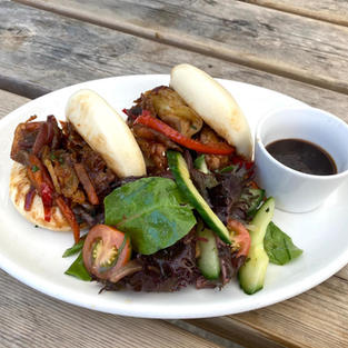 Chinese Chicken Bao one of our specials