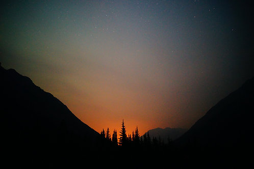 Banff, Canada, Alberta, Night Photography