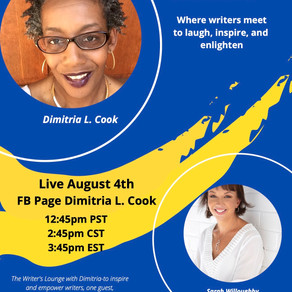 Interview with Dimitria L Cook
