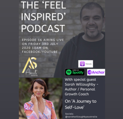 Podcast with Amit Sodha - A Journey to Self-Love