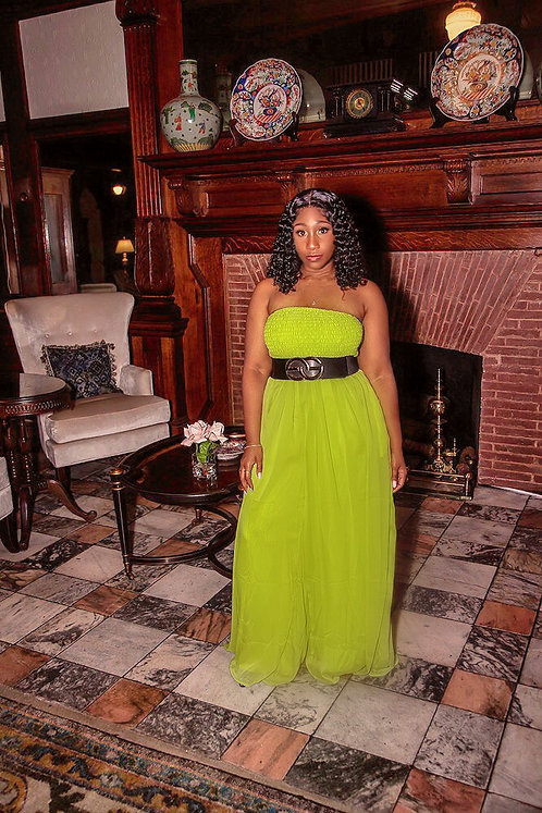 The Island Gyal Green Jumpsuit