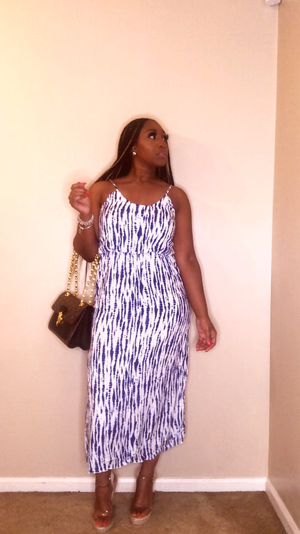 Melody's Blue Dress