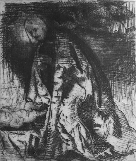 Maternità (da Girolamo Romanino)