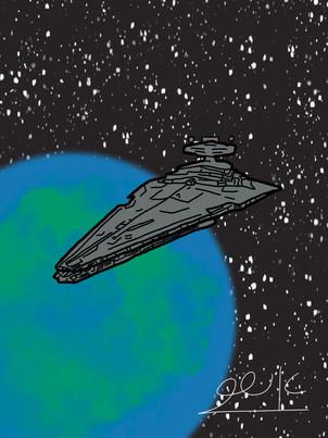 משחתת כוכבים אימפרלית Impeerial Star Destroyer