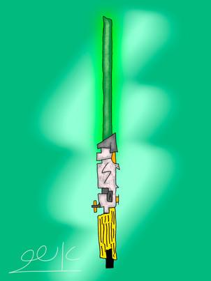 חרב אור ירוקה Green Lightsaber