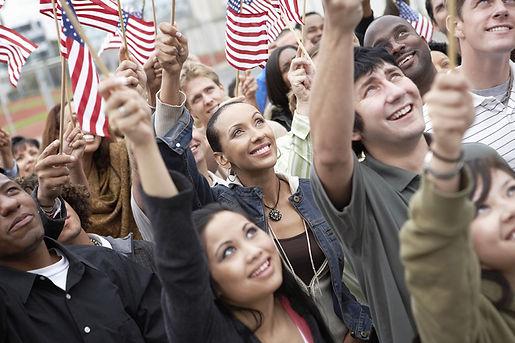 Immigrants applying for Naturalization, Inmigrantes aplicando por naturalizacion