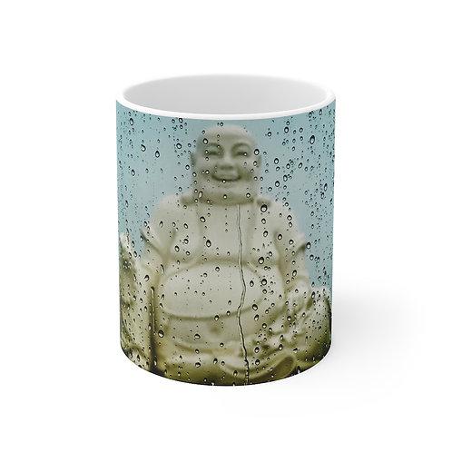 Rainy buddha