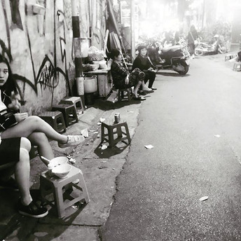 Streets in Hanoi ❤️#hanoi #streetsofhano