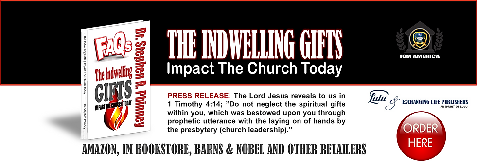 Indewlling Gifts Book - Dr. Stephen Phin