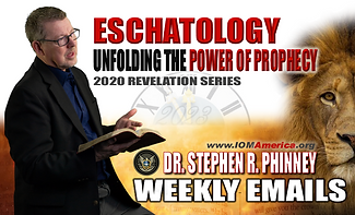 Eschatology Weekly Email Ad  2 (IOM Amer