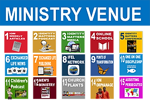 IOM America's 15 points of ministry.