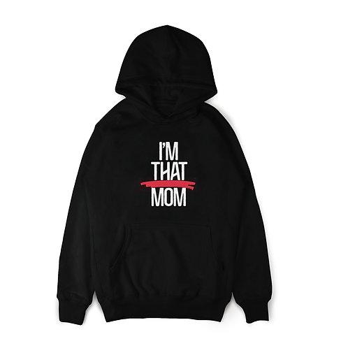 THAT MOM hoodie (black)