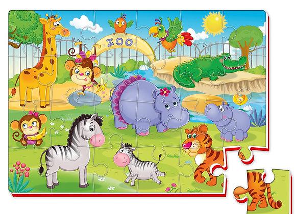 """Puzzle en mousse """"Zoo"""""""