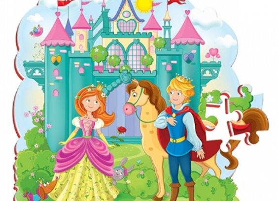 """Puzzles en mousse """"Princesse"""""""