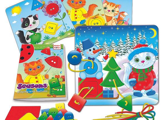 """Jeu educatif avec les boutons """"Seasons"""""""