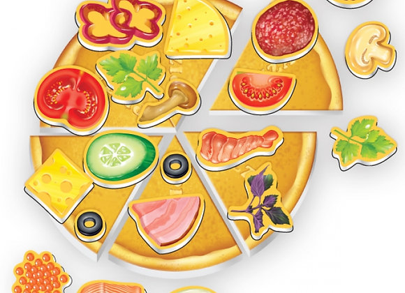 "Jeu magnetique ""Pizza"""