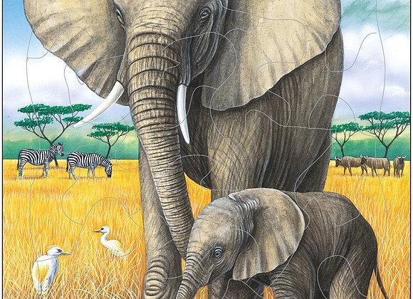 """Puzzle """"L'éléphant"""""""