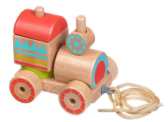 Train en bois