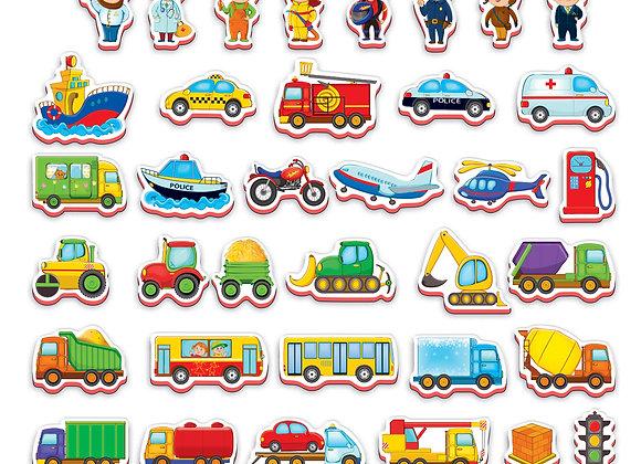 """Les aimants """"Transport"""""""