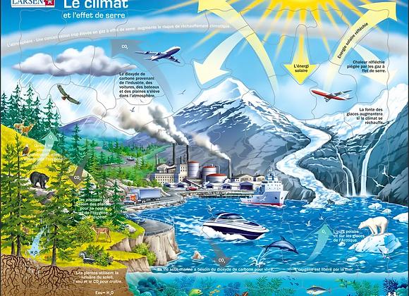 """Puzzle """"Notre climat et l'effet de serre"""""""