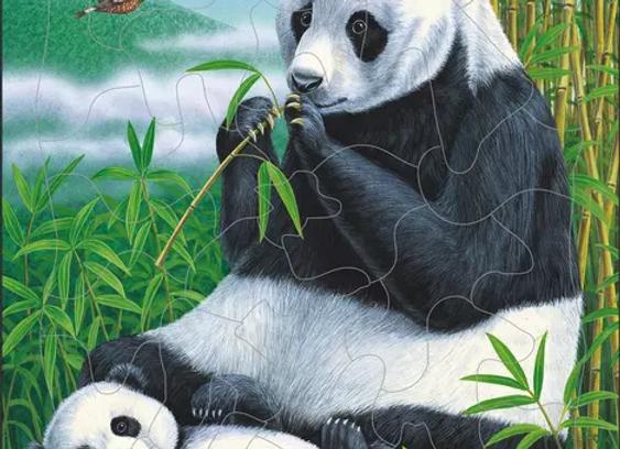 """Puzzle """"Panda"""""""